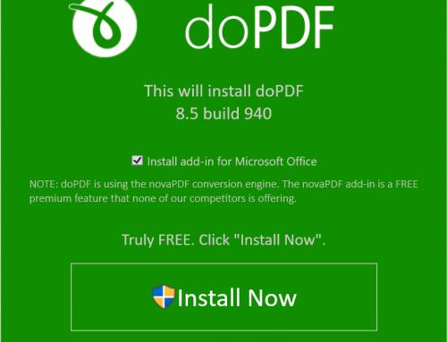 โปรแกรม doPDF แปลงไฟล์เป็น PDF