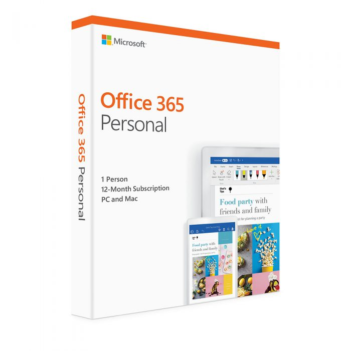 MICROSOFT OFFICE 365 PERSONAL ENGLISH 2019 (QQ2-00807)