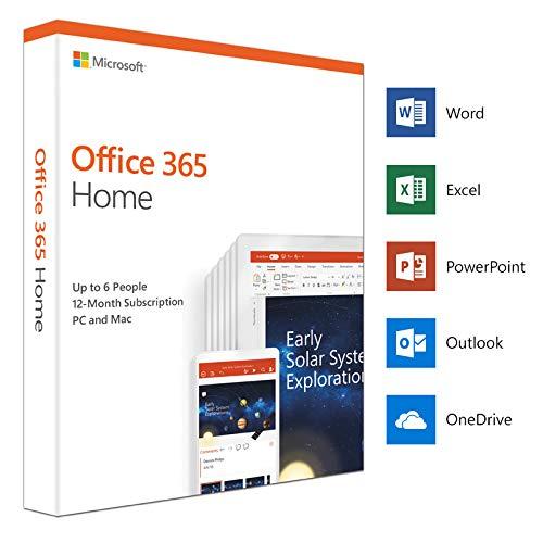 Microsoft Office 365 Home 2019 English (6GQ-00968)